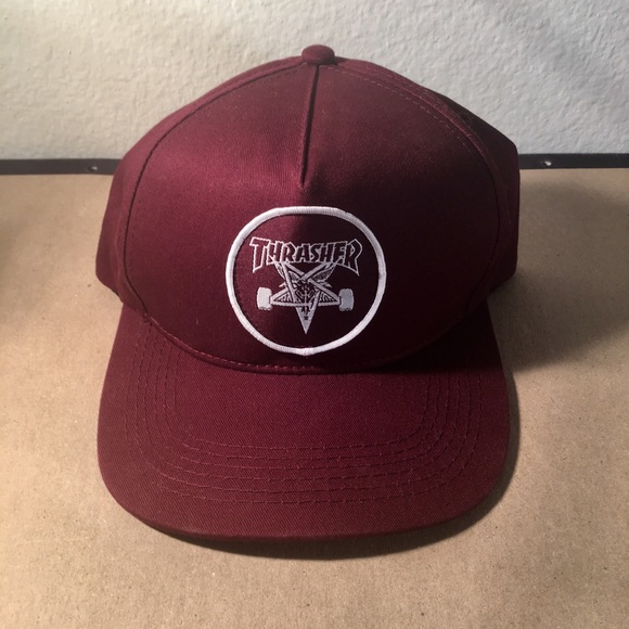 ba0106d6 Thrasher Accessories | Skategoat Snapback Hat | Poshmark